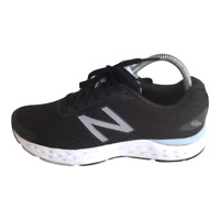New Balance 680 V6 Womens Size 9 Black Athletic Running Walking Shoes Sneakers