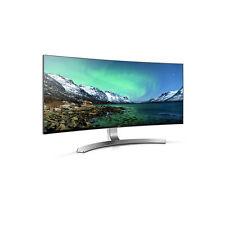 "New 34"" LG 34UC98 Ultra Wide Curved 21:9 WQHD 3440 x 1440 Thunderbolt Monitor"