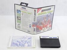 Sega Master Sistema Campeones de Europa COMPLETO PAL