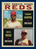 Tommy Harper & Pete Rose Reds / MC Pastime rookies #11 / MINT cond FREE SHIPPING