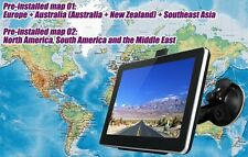 Car Lorry Gps Satellite Voice Navigation Satnav Europe Travel Guide European Map