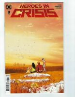 Heroes In Crisis #8 DC COMICS  Cover A 1ST  PRINT TOM KING