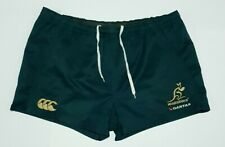 Australia Wallabies Mens Canterbury CCC Rugby Union Shorts Size 38 or 97cm Waist