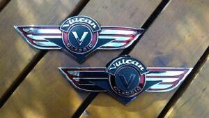 1 Satz Kawasaki VN 800 Vulcan Classic Emblem, Tankemblem, Tank