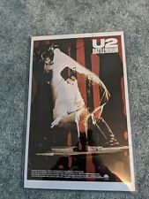 1988 U2 Rattle And Hum Movie Poster
