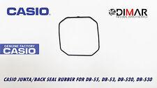 CASIO JUNTA/ BACK SEAL RUBBER, PARA MODELOS. DB-53, DB,55, DB-520, DB-530