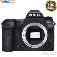 NEW PENTAX DSLR Digital Camera K-3 Body Black Low Pass Selector 15532 from JAPAN