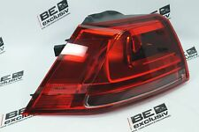 VW Golf 7 VII 5G GTI US Rückleuchte Heckleuchte links aussen dunkel 5GM945095B