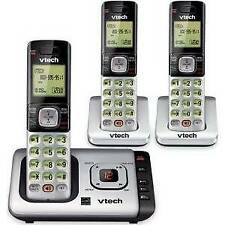 Vtech 3 Handset Cordless Telephone with Answer System CS6729-3