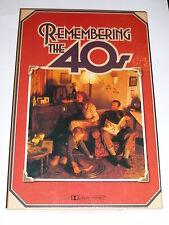 REMEMBERING THE 40s - 1984 UK 4 Box set Cassette