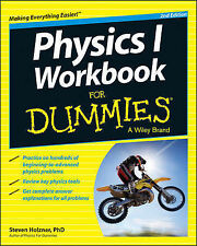 NEW Physics I Workbook For Dummies by Steven Holzner