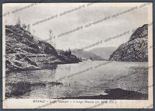 BERGAMO BRANZI 06 LAGHI - VAL BREMBANA Cartolina viaggiata 1941