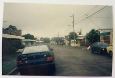 Vintage 90s PHOTO Of A Mercedes W124 230E w/ Spoiler On The Street In Costa Rica