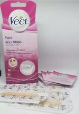 Veet EasyGrip Ready to Use 18 Wax Strips and 4 Perfect Finish Wipes for Face