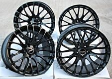 "19"" CRUIZE 170 ALLOY WHEELS MATT BLACK CROSS SPOKE CONCAVE 5X114 19 INCH ALLOYS"