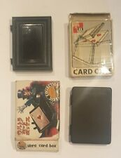 Original EARLY TENYO CARD CASE (T-40) plus 1 Ultra Card Box from Japan (a)