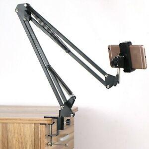 Suspension Scissor Arm Webcam Stand Camera Mount Phone Tripod Holder