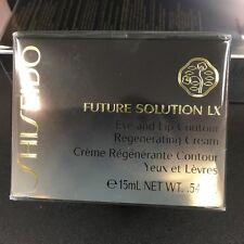 NEW SHISEIDO Solution Lx Eye And Lip Contour Regeneration Cream,15mL+Free SampL