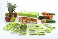Food Slicer Dicer Nicer Container Compact Vegetable & Fruit Cutter & Peeler