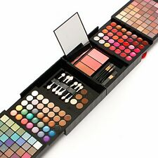 Professional 177 Color Eyeshadow Palette Blush Lip Gloss Makeup Cosmetic Set Kit