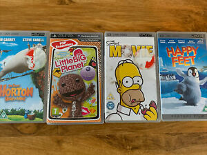 Psp Game And Dvd Film Bundle