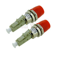 2pcs FC Female to LC male FC-LC Multi-mode 50/125um Fiber Optic Hybrid Adapter