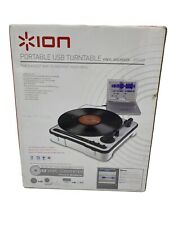 Ion portable USB portable record player with original packaging & Software