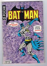 BATMAN POCHE - N° 13 - 1978