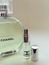 CHANEL CHANCE Eau Fraiche Toilette EDT Perfume Glass Spray Travel SAMPLE ~ 5ml