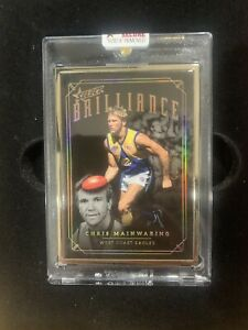 CHRIS MAINWARING BRILLIANCE (12/50). Eagles, Select 2020, New Release