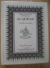 Al Quran Koran Book English Translation & Meaning Islamic Religion Muslim