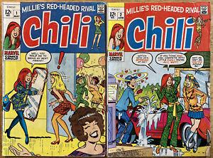 Chili #1 & #2 (Marvel 1969).  Stan Lee story.  Art Stan Goldberg.