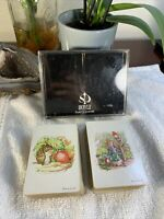 Vintage Beatrix Potter Peter Rabbit Dual Deck Whitman F.W. & Co Playing Cards