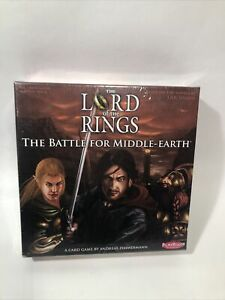 The Lord Of The Rings Battle For Middle Earth Card Game - New / Free Shipping