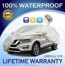 100% Weatherproof Full SUV Cover with Door Zipper For Nissan Rouge [2000-2020]