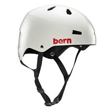 Bern Macon Mens EPS Bike Cycle Helmet Thin Shell S-M L-XL 2XL-3XL Satin Grey