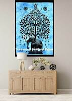 Tapestry Tree of Life Wall Hanging Tapestries Elephant Psychedelic hippie Indian