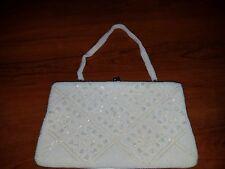 VINTAGE Richere purse/handbag bead and sequin STUNNING