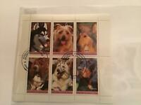 Famous Breeds Domesticated  Dog  stamps Sheet R23527