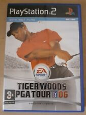 Instructions Inc Tiger Woods PGA Tour 06 - Sony PS2 Playstation 2 FREE POSTAGE