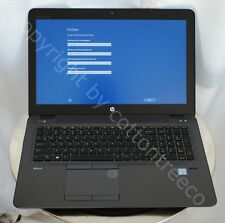HP Zbook 15u G4 15.6 FHD Mobile Workstation Core i7 2.8Ghz 512GB SSD 16GB