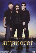 CREPUSCULO AMANECER PARTE 2 DVD NUEVO ( SIN ABRIR )