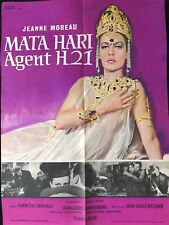 MATA HARI AGENT H 21 JEANNE MOREAU