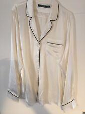 Ladies Lauren Ralph Lauren Silk Cream Blouse XL