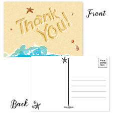 Beach Thank You Postcards - 50 Thank You Postcards - 17003