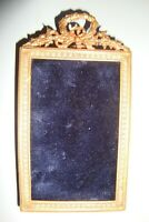 PICTURE FRAME ANTIQUE BRONZE GILT made in france SMALL SHIPPING WORLDWIDE N1