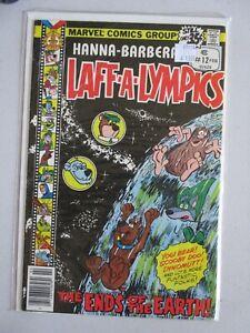 LAFF A LYMPICS #12 HI GRADE COSMIC COVER GEM Yogi Bear Scooby Doo!