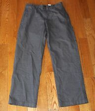 RUSTON Relaxed Fit Dress Pants EDDIE BAUER  34x32 Gray Cotton 34 32 Patterned