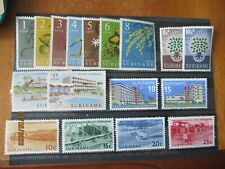 Suriname ~ 5 x Complete MNH Sets ~ Lot 3