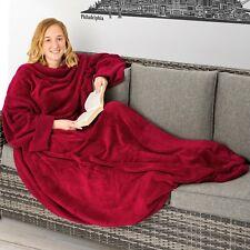 Coperta con tasche le maniche soffice dormire divano copriletto tasca 170x200 ro